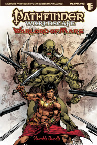 Pathfinder: Worldscape: Warlord of Mars #1