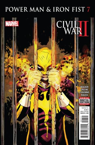 Power Man and Iron Fist #7 Reviews (2016) at ...