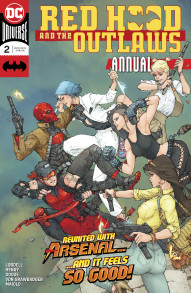 Red Hood and the Outlaws Annual #2