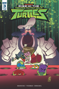 Rise of the Teenage Mutant Ninja Turtles #3