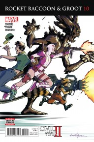 Rocket Raccoon and Groot #10