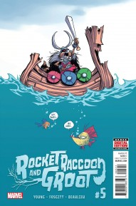 Rocket Raccoon and Groot #5