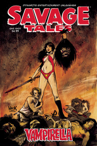 Savage Tales: Vampirella (One Shot)