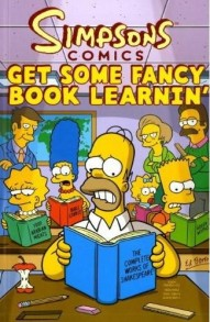 Simpsons Comics Get Some Fancy Book Learnin