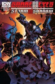 Snake Eyes And Storm Shadow #17