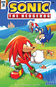 Sonic The Hedgehog #3