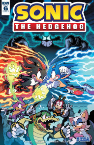 Sonic The Hedgehog #6