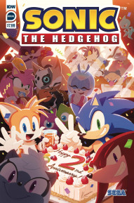 Sonic The Hedgehog Annual #2020