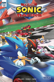 Sonic The Hedgehog: Team Sonic Racing #1