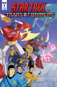 Star Trek vs. Transformers #1