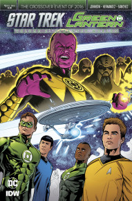 Star Trek/Green Lantern: Stranger Worlds #1