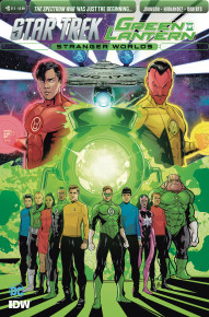 Star Trek/Green Lantern: Stranger Worlds #6