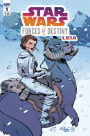 Star Wars Adventures: Forces of Destiny: Leia #1