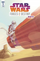 Star Wars Adventures: Forces of Destiny: Rey #1