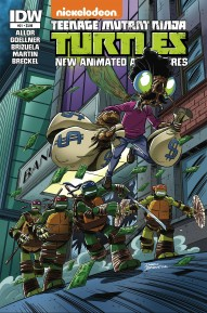 Teenage Mutant Ninja Turtles New Animated Adventures #21