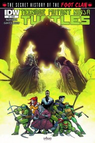 Teenage Mutant Ninja Turtles: Secret History of the Foot Clan #4