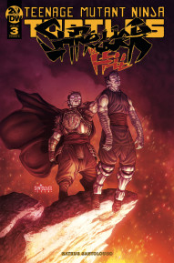 Teenage Mutant Ninja Turtles: Shredder in Hell #3