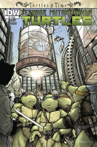 Teenage Mutant Ninja Turtles: Turtles in Time #4