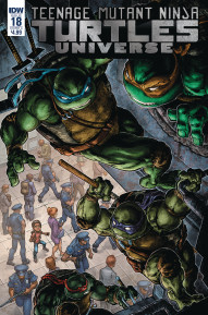 Teenage Mutant Ninja Turtles: Universe #18