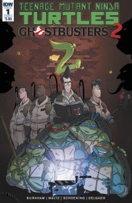 Teenage Mutant Ninja Turtles/Ghostbusters II