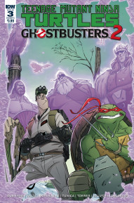 Teenage Mutant Ninja Turtles/Ghostbusters II #3