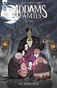 The Adams Family: The Bodies Issue #1