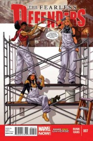 The Fearless Defenders #7