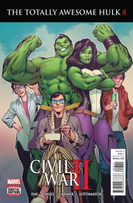 The Totally Awesome Hulk #8