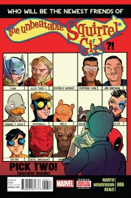 The Unbeatable Squirrel Girl #6