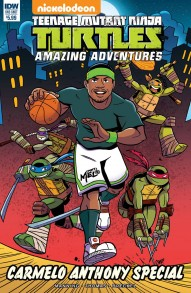 TMNT: Amazing Adventures - Carmelo Anthony Special One-Shot #1
