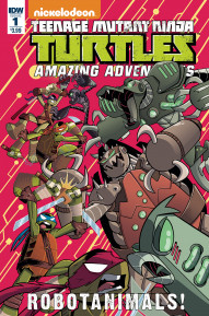 TMNT: Amazing Adventures: Robotanimals #1