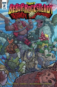 TMNT: Bebop & Rocksteady Destroy Everything #2