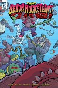 TMNT: Bebop & Rocksteady Destroy Everything #5