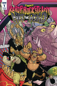 TMNT: Bebop & Rocksteady Hit the Road #1
