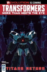 Transformers: More Than Meets The Eye #57