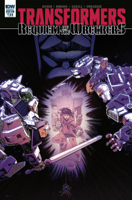 Transformers: Requiem of the Wreckers #1