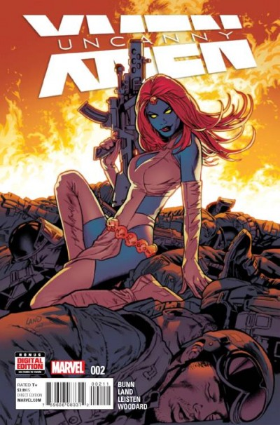 Uncanny X-Men #2 Reviews (2016) at ComicBookRoundUp.com